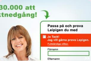 Screenshot from Lepigen - Campaign page