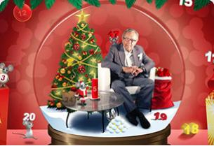 Screenshot from MamaMia Bingo - Christmas Calender with Arne Weise
