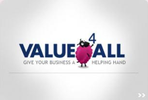 Screenshot from Value4all P2P webstite logo