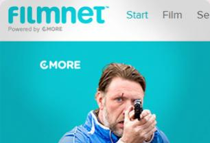 Screenshot from Filmnet - Conversion design and communication